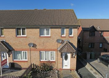 Thumbnail 3 bed end terrace house for sale in Doddridge Close, Staddiscombe, Plymouth
