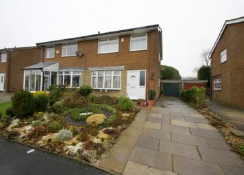 Thumbnail 3 bed semi-detached house for sale in Avebury Close, Horwich, Bolton