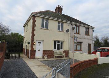 Thumbnail 2 bed semi-detached house for sale in Rhandir, Llwynhendy, Llanelli
