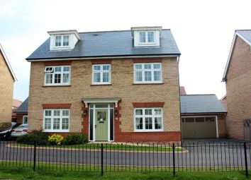 Thumbnail 5 bed detached house for sale in Long Down Avenue, Cheswick Village