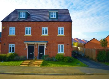 Thumbnail 3 bed semi-detached house for sale in Kingfisher Road, Thrapston, Kettering