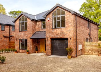 Thumbnail 4 bed detached house for sale in Park Lane, Sandbach, Cheshire
