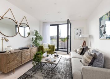 Thumbnail 2 bed flat for sale in A501, 10-20 Dock Street, London