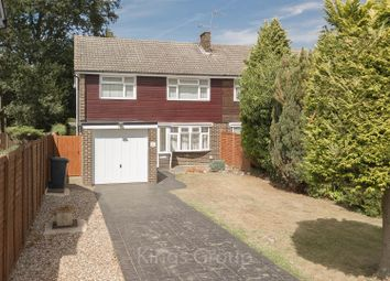 Thumbnail 4 bed semi-detached house for sale in Longwood Road, Hertford