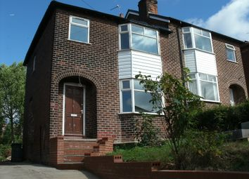 Thumbnail 3 bedroom semi-detached house to rent in Sandringham Road, Bredbury
