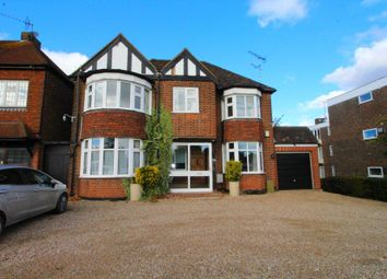 Thumbnail 4 bed detached house to rent in Hutton Road, Shenfield, Brentwood
