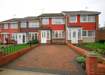 Thumbnail 3 bed terraced house for sale in Burscough Crescent, Sunderland