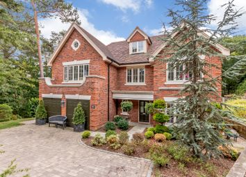 Thumbnail 6 bed detached house for sale in Tattingstone Close, Lower Bourne, Farnham