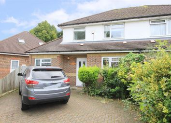 Thumbnail 4 bed semi-detached house for sale in Copthall Road East, Ickenham