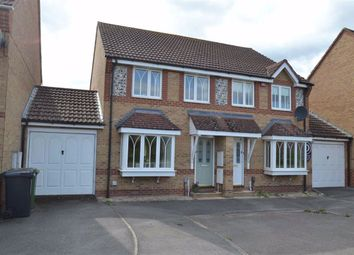 Thumbnail 3 bed semi-detached house for sale in Equine Way, Newbury, Berkshire