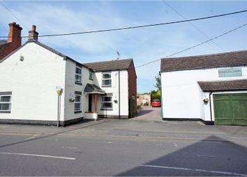 Thumbnail 4 bed detached house for sale in High Street, Saxilby, Lincoln