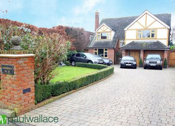 Thumbnail 5 bedroom detached house for sale in Stratfield Drive, Broxbourne