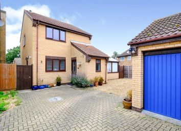 Thumbnail 3 bed detached house for sale in Barnfield Gardens, Coates, Peterborough
