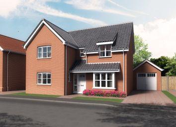 Thumbnail 4 bedroom detached house for sale in Monckton Avenue, Lowestoft