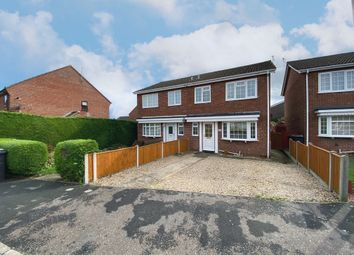 Thumbnail 3 bed semi-detached house for sale in St Georges Drive, Toftwood, Dereham