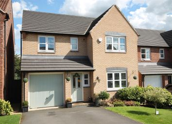 Thumbnail 4 bedroom detached house for sale in Lynemouth Court, Arnold, Nottingham