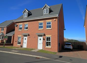Thumbnail 3 bed town house for sale in Ashwood Close, Sacriston, Durham
