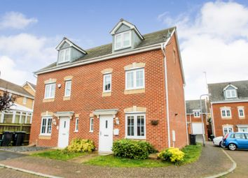 Thumbnail 4 bed semi-detached house for sale in Regency Court, Rushden