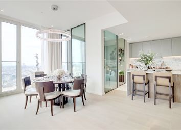 Thumbnail 3 bed flat for sale in Southbank Tower, 55 Upper Ground, London