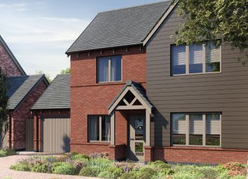 Thumbnail 4 bed detached house for sale in Plot 3 - Village Walk, New Road, Studley