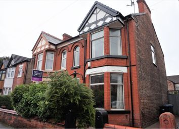 3 bed semi-detached house for sale in Leighton Road, Manchester M16