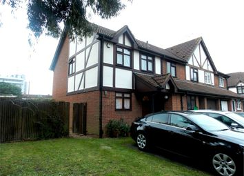 Thumbnail 3 bed end terrace house to rent in Regents Close, Hayes, Middlesex