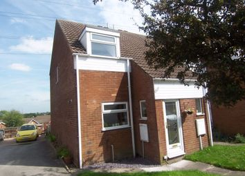 Thumbnail 2 bed semi-detached house to rent in Aspen Court, Forest Town, Mansfield