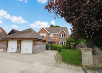 Thumbnail 5 bedroom detached house to rent in High Street, Watchfield, Swindon