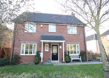 Thumbnail 4 bed detached house for sale in Desaumarez Drive, Barham, Ipswich, Suffolk