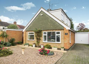 Thumbnail 3 bed detached bungalow for sale in Thornborough Close, Market Harborough