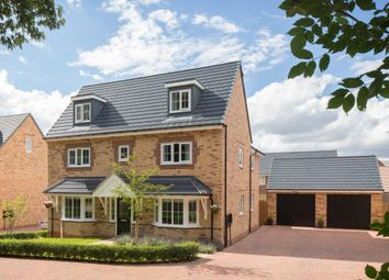 "Thumbnail 5 bed detached house for sale in ""Stratford"" at Eldon Way, Crick Industrial Estate, Crick, Northampton"