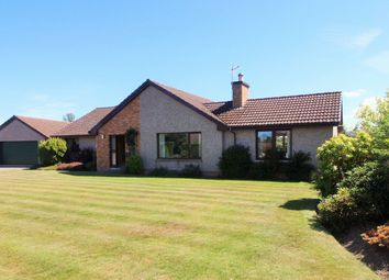 Thumbnail 4 bed detached bungalow for sale in Mary Croft, Forres
