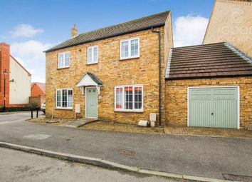 Thumbnail 4 bed link-detached house for sale in The Barns, Littleport, Ely