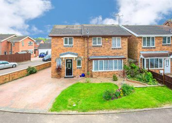 Thumbnail 4 bed detached house for sale in Epping Close, Barton Seagrave, Kettering