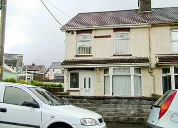 Thumbnail 3 bed end terrace house to rent in Gilfach Goch -, Porth