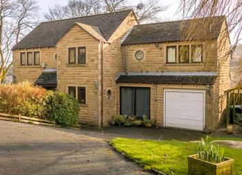 Thumbnail 4 bed detached house for sale in Oak Drive, Golcar, Huddersfield