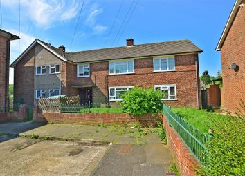Thumbnail 2 bed flat for sale in Cormorant Close, Strood, Rochester, Kent