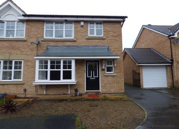 Thumbnail 3 bed semi-detached house to rent in Talybont Grove, Ingleby Barwick, Stockton-On-Tees