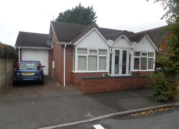 Thumbnail 2 bed bungalow for sale in St Johns Road, Oldbury