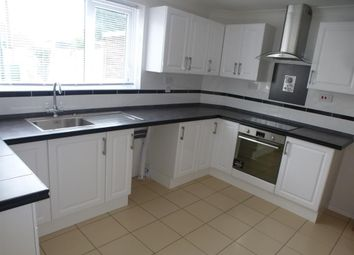 Thumbnail 3 bed terraced house to rent in Kingsway Avenue, New Ollerton, Newark