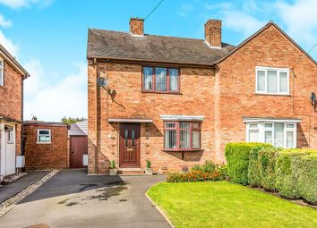 Thumbnail 2 bed semi-detached house for sale in Brooklyn Road, Heath Hayes, Cannock