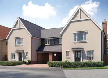 Thumbnail 3 bed link-detached house for sale in Ploughmans Reach, Stebbing, Great Dunmow, Essex
