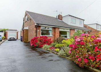 Thumbnail 3 bed semi-detached bungalow for sale in Marlowe Avenue, Baxenden, Lancashire