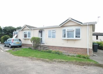 Thumbnail 2 bed mobile/park home for sale in Wixfield Park, Great Bricett