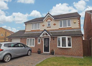 Thumbnail 4 bedroom detached house for sale in Balmoral Drive, Peterlee, Durham