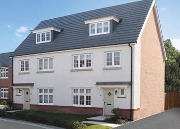 Thumbnail 4 bed semi-detached house for sale in Scholars' Walk, Off Baggallay Street, Hereford, Herefordshire