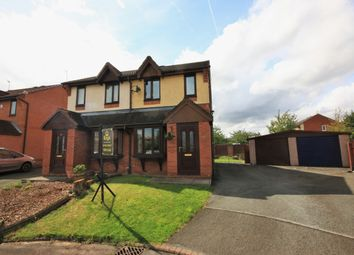 Thumbnail 2 bed semi-detached house for sale in Pennell Drive, Worsley Mesnes, Wigan