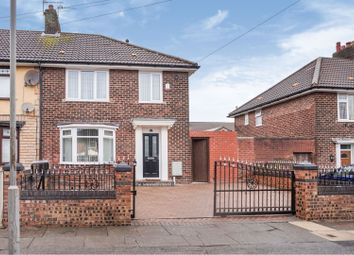 Thumbnail 3 bed end terrace house for sale in Shottesbrook Green, Liverpool