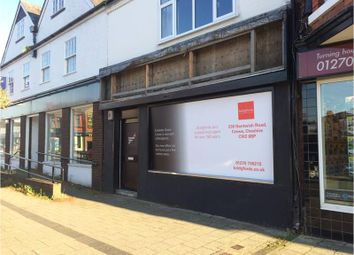 Thumbnail Retail premises to let in 226, Nantwich Road, Crewe, Cheshire