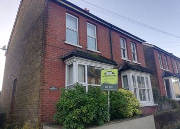 Thumbnail 3 bed semi-detached house to rent in Osborne Road, Redhill